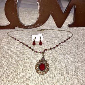 🌺SAQ🌺Vintage jewelry set 🌺